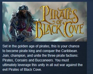 Pirates of Black Cove Gold STEAM KEY REGION FREE GLOBAL