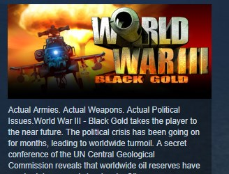 World War III Black Gold 💎STEAM KEY REGION FREE GLOBAL