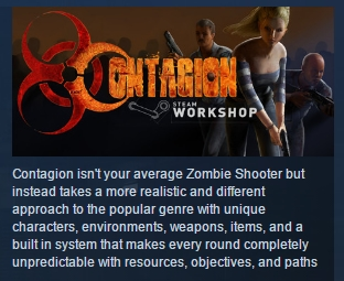 Contagion  ( Steam Key / Region Free ) GLOBAL ROW