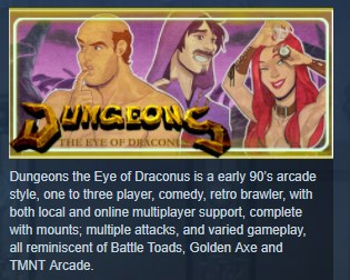 Dungeons: The Eye of Draconus (STEAM KEY REGION FREE)