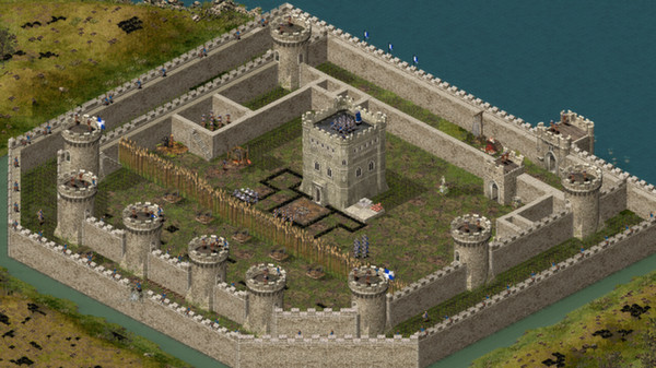 Stronghold HD ( Steam Key / Region Free ) GLOBAL ROW