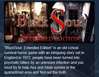 BlackSoul Extended Edition STEAM KEY REGION FREE GLOBAL