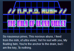 N.P.P.D RUSH - The milk of Ultraviolet STEAM KEY GLOBAL