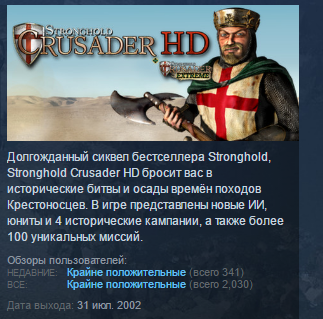 license key stronghold crusader
