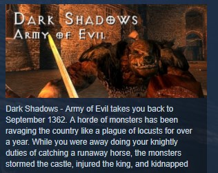 Dark Shadows Army of Evil STEAM KEY REGION FREE GLOBAL