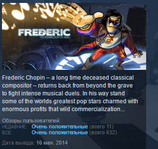 Frederic: Resurrection of Music STEAM KEY REGION FREE