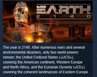 Фотография earth 2140 hd steam key region free global 💎