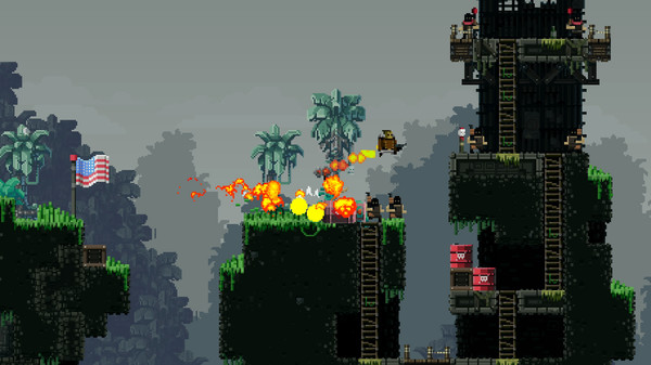 Broforce ( STEAM GIFT RU + CIS )