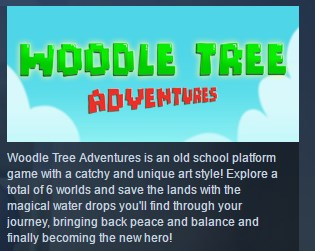 Woodle Tree Adventures STEAM KEY REGION FREE GLOBAL ROW