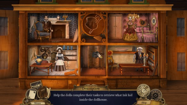 Clockwork Tales: Of Glass and Ink STEAM KEY REGION FREE