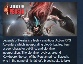 Legends of Persia STEAM KEY REGION FREE GLOBAL