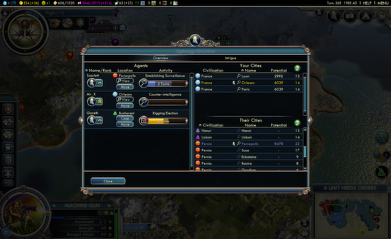 Sid Meiers Civilization V 5 Gods and Kings STEAM GLOBAL
