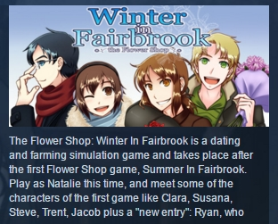 Flower Shop: Winter In Fairbrook STEAM KEY REGION FREE