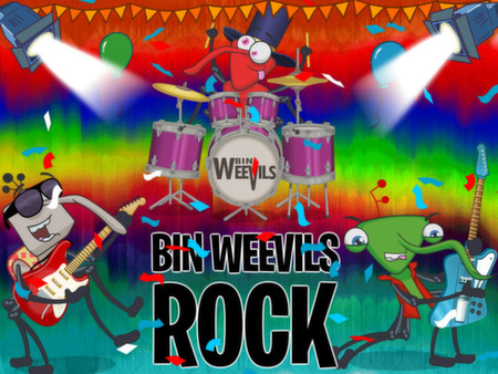 Bin Weevils Arty Arcade STEAM KEY REGION FREE GLOBAL