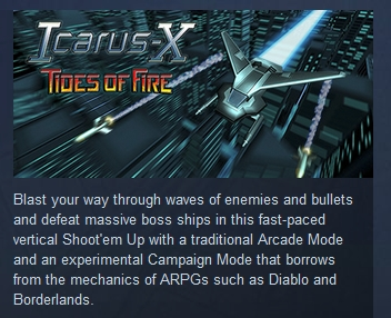 Icarus-X: Tides of Fire  ( Steam Key / Region Free )