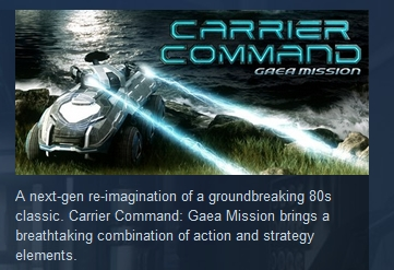 Carrier Command: Gaea Mission  ( STEAM KEY RU + CIS )