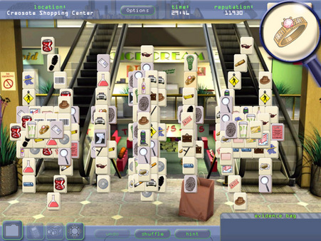 Mahjongg Investigations: Under Suspicion STEAM KEY ROW