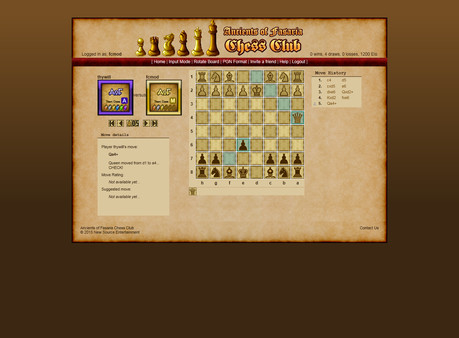 AoF Chess Club 2.0 STEAM KEY REGION FREE  GLOBAL ROW