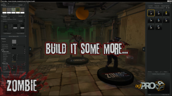 Axis Game Factory´s AGFPRO Zombie FPS Player DLC STEAM