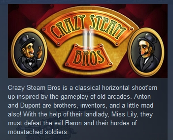 Crazy Steam Bros 2 ( Steam Key / Region Free )