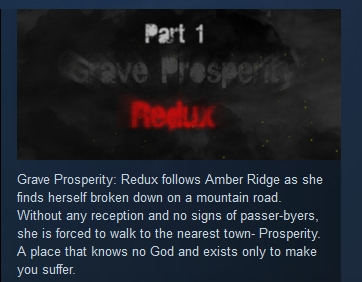 Grave Prosperity: Redux- part 1 STEAM KEY REGION FREE