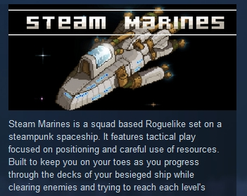Steam Marines  ( Steam Key / Region Free )