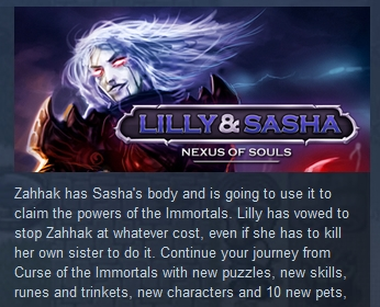 Lilly and Sasha: Nexus of Souls (STEAM KEY REGION FREE)