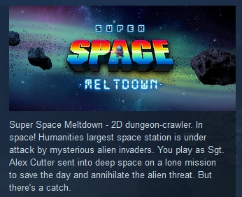 Super Space Meltdown  ( Steam Key / Region Free )