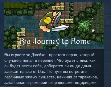 Big Journey to Home ( Steam Key / Region Free ) GLOBAL