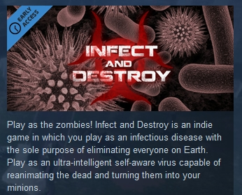 Infect and Destroy ( Steam Key / Region Free ) GLOBAL