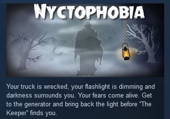 Nyctophobia  ( Steam Key / Region Free ) GLOBAL ROW