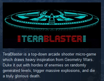 TeraBlaster ( Steam Key / Region Free ) GLOBAL ROW