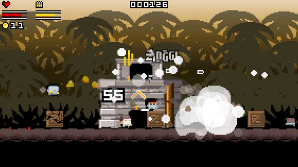 Gunslugs  ( Steam Key / Region Free )