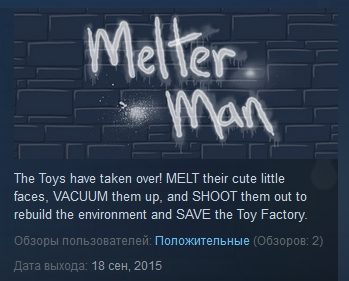 Melter Man ( Steam Key / Region Free ) GLOBAL ROW