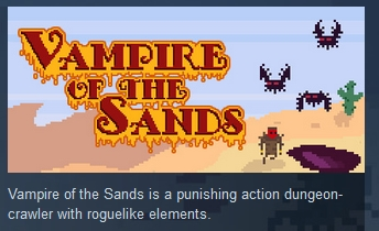 Vampire Of The Sands ( Steam Key / Region Free ) GLOBAL