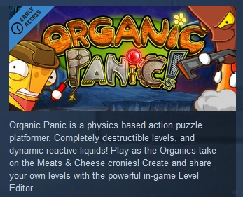 Organic Panic   ( Steam Key / Region Free )