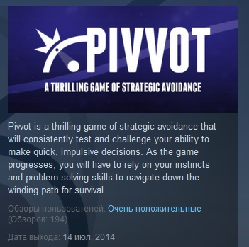 Pivvot  ( Steam Key / Region Free )