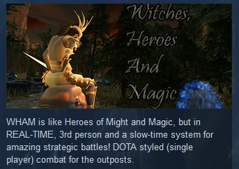 Witches, Heroes and Magic STEAM KEY REGION FREE GLOBAL