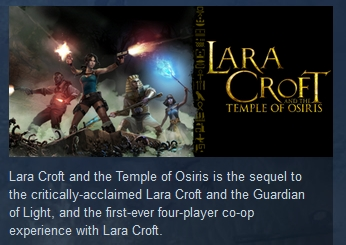 Lara Croft and the Temple of Osiris STEAM GIFT