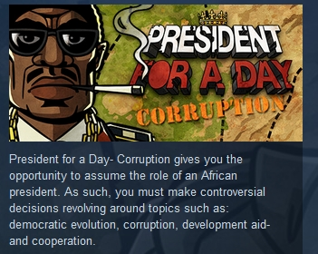 President for a Day Corruption STEAM KEY REGION FREE