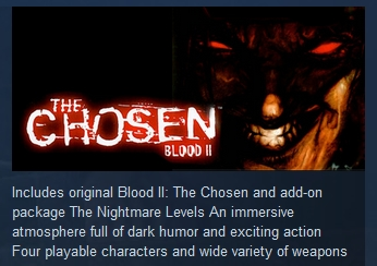 Blood II: The Chosen + Expansion STEAM GIFT RU + CIS