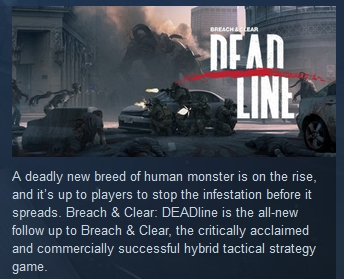 Breach & Clear: Deadline ( STEAM GIFT RU + CIS )
