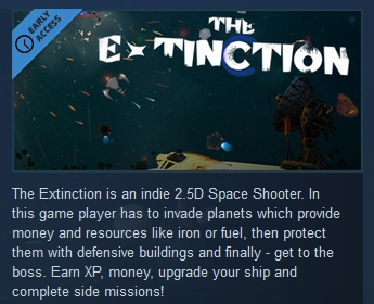 The Extinction ( Steam Key / Region Free ) GLOBAL ROW