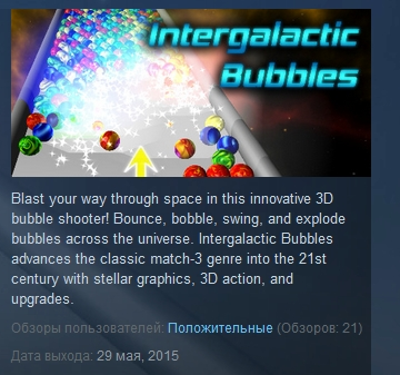 Intergalactic Bubbles STEAM KEY REGION FREE GLOBAL