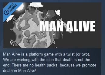 Man Alive ( Steam Key / Region Free ) GLOBAL ROW