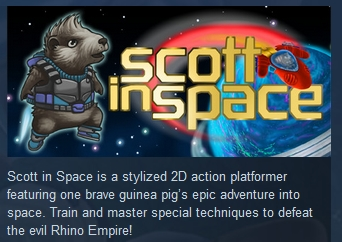 Scott In Space  ( Steam Key / Region Free ) GLOBAL ROW