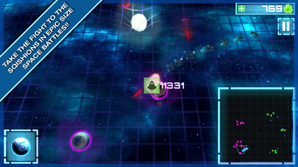 Relativity Wars - A Science Space RTS STEAM KEY GLOBAL