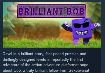 Brilliant Bob ( Steam Key / Region Free ) GLOBAL ROW
