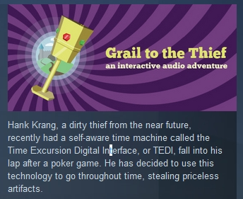 Grail to the Thief ( Steam Key / Region Free ) GLOBAL