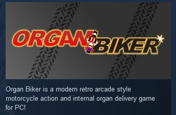 Organ Biker ( Steam Key / Region Free ) GLOBAL ROW